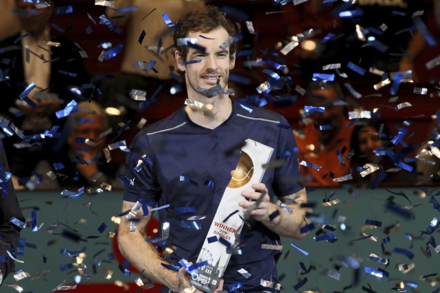 Andy Murray a remporté le tournoi de Vienne,... (Photo Ronald Zak, AP)