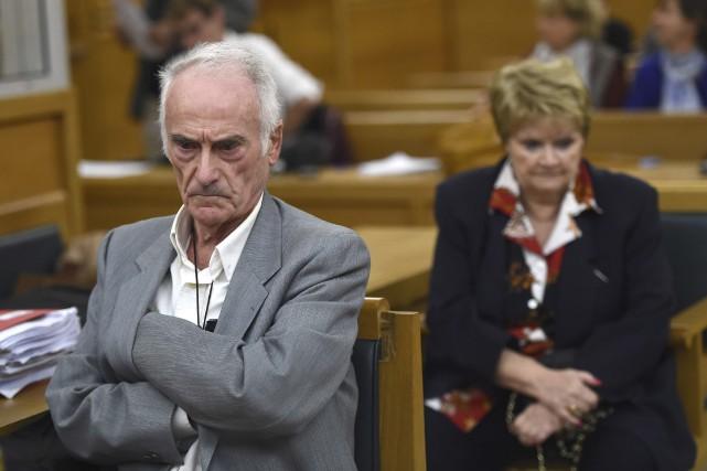 L'électricien de Picasso, Pierre Le Guennec, et sa... (AFP, Boris Horvat)