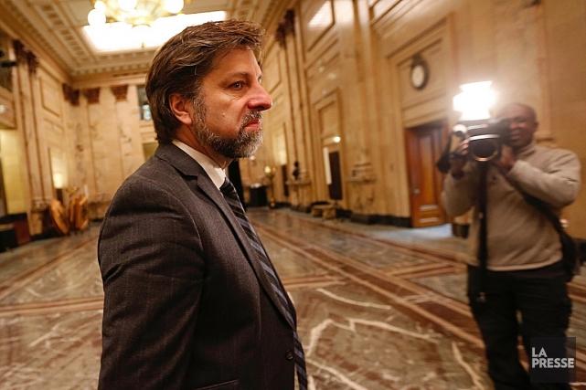 Luc Ferrandez est chef intérimaire de Projet Montréal... (Patrick Sanfaçon, La Presse)