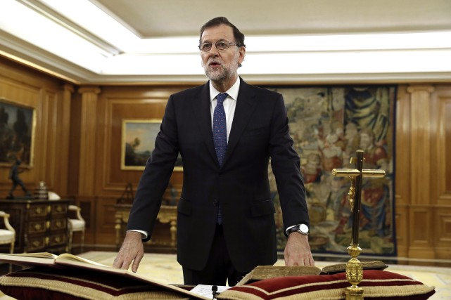 Mariano Rajoy... (PHOTO Chema Moya, AP)