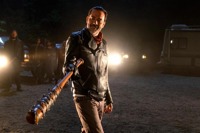 Jeffrey Dean Morgan incarne Negan, le nouveau méchant... (Photo fournie par AMC)