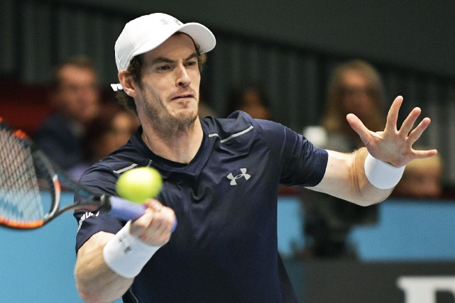 Andy Murray... (Photo Hans Punz, AFP)