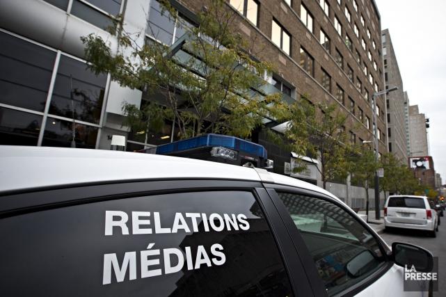 Le syndicat qui représente les journalistes de La Presse dénonce «... (Photo Patrick Sanfaçon, La Presse)
