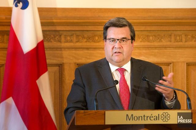 Le maire de MontréalDenis Coderre.... (Robert Skinner, archives La Presse)