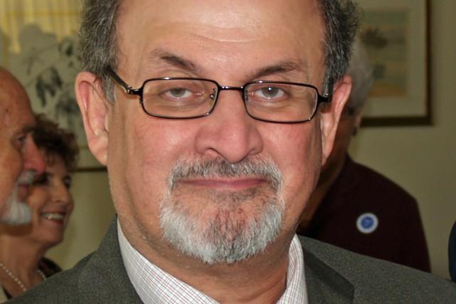 Salman Rushdie... (photo tirée de wikipédia)