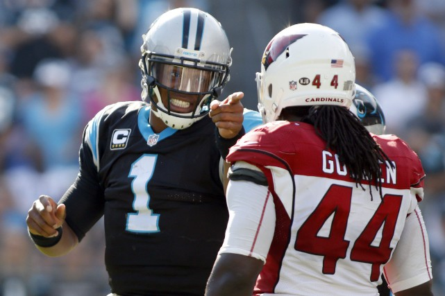 Cam Newton (1)... (Photo Bob Leverone, AP)