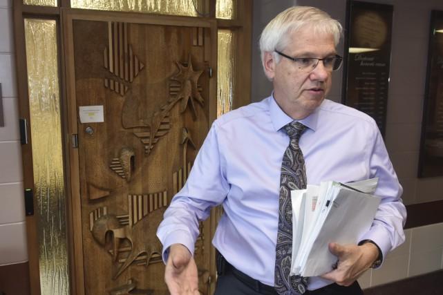 Le recteur Daniel McMahon... (Francois Gervais)