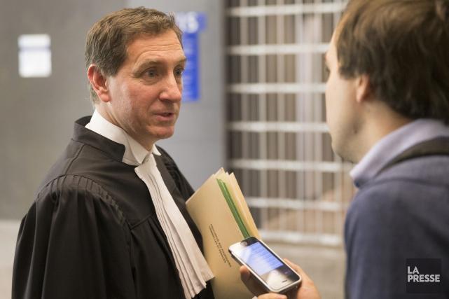 Le procureur de la Couronne présent ce matin,... (PHOTO IVANOH DEMERS, LA PRESSE)