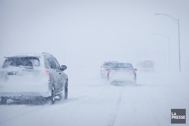 De 10 à 20 cm de neige sont... (André Pichette, Archives La Presse)