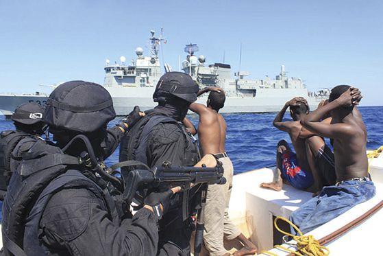 Depuis 2012, les actes de piraterie sont en... (AFP)