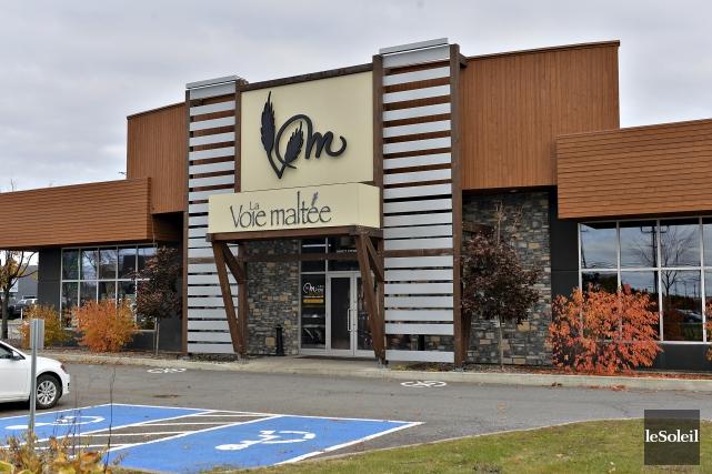 Ouvert en 2013, le restaurant La Voie maltée... (Le Soleil, Patrice Laroche)