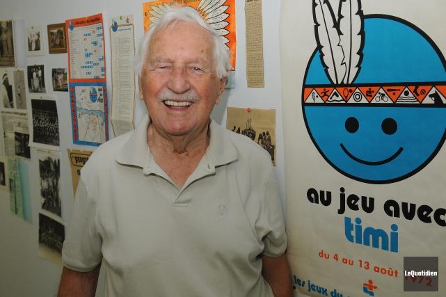 Marcel Claveau est décédé d'une brève maladie à... (Archives Le Quotidien, Rocket Lavoie)