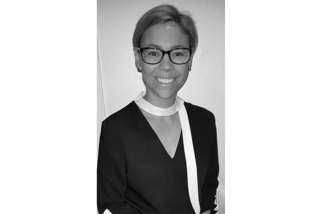 C'est Valérie Therrien, actuelle directrice du développement de...