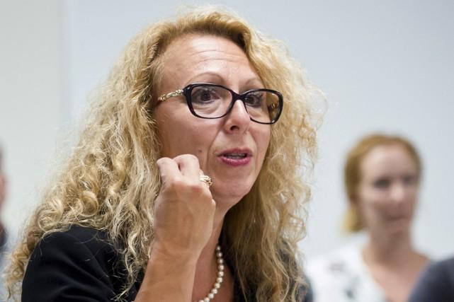 La directrice des services généraux au CIUSSS de... (Spectre Média, Jessica Garneau)