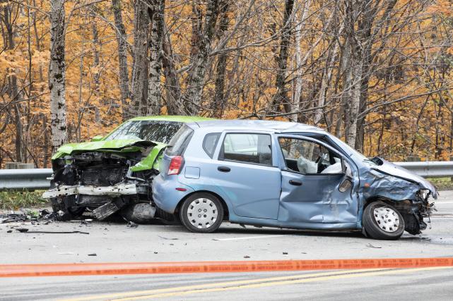 Selon la Sûreté du Québec, le conducteur fautif... (Collaboration spéciale, Steve Jolicoeur)