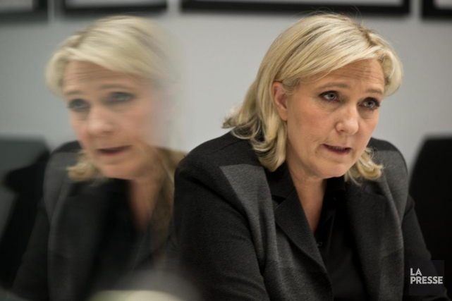 Marine Le Pen... (PHOTO OLIVIER JEAN, ARCHIVES LA PRESSE)