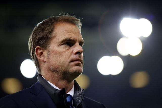 L'entraîneur de l'Inter Milan,Frank de Boer.... (Photo Marco Bertorello, AFP)