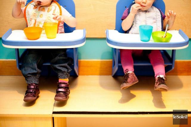 En 2015, 57 % des enfants de moins... (Photothèque Le Soleil)