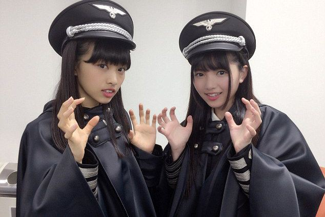 Le 22 octobre, le groupe d'adolescentes Keyakizaka46 avait... (Keyakizaka46)