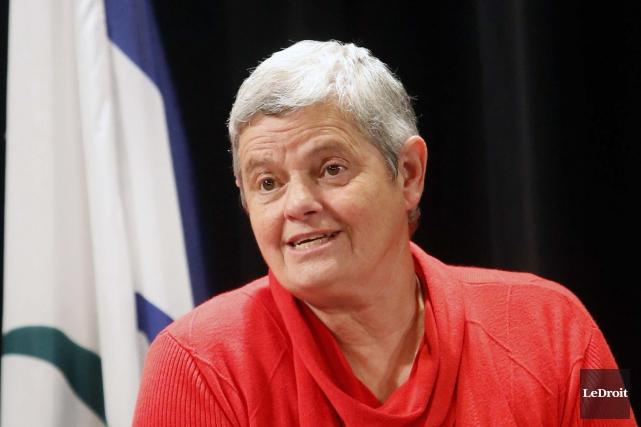 Denise Laferrière a précisé dans sa présentation qu'une... (Simon Séguin-Bertrand, Archives LeDroit)