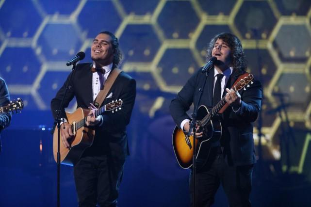 Les frères Érik et Sonny Caouette ont remporté... (Photo Martin Chamberland, La Presse)
