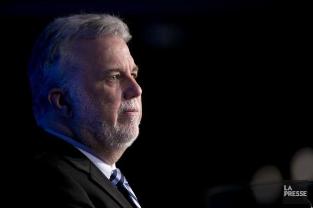Le premier ministre du Québec Philippe Couillard... (PHOTO DAVID BOILY, ARCHIVES LA PRESSE)