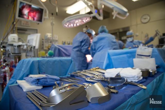Le CIUSSS de l'Estrie - CHUS ne figure pas à la liste des hôpitaux qui ont été... (Archives La Presse)