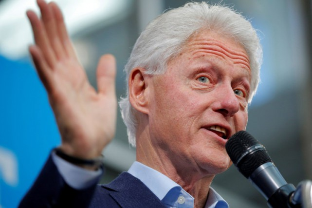 Bill Clinton... (PHOTO REUTERS)