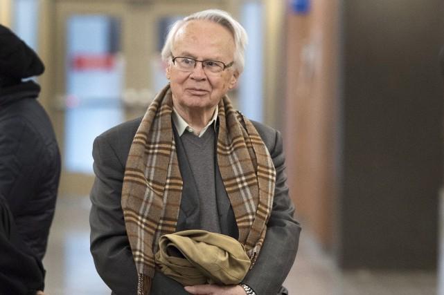 Âgé de 83 ans, Jacques Corriveau faisait face... (Ryan Remiorz, La Presse canadienne)