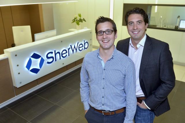 L'entreprise SherWeb fondée par Matthew et Peter Cassar... (imacom, Maxime Picard)