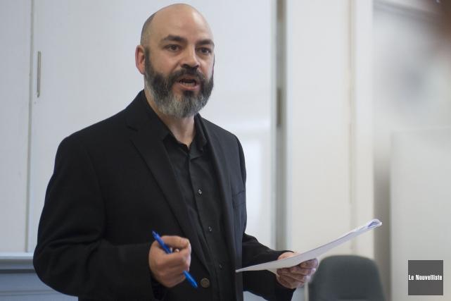 Le coordonnateur de la Table régionale des organismes... (Stéphane Lessard, Le Nouvelliste)