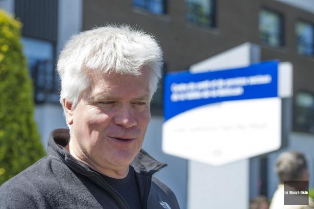 Claude Audy est le vice-président régional de la... (Stéphane Lessard, Le Nouvelliste)