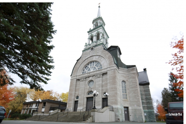 L'église Notre-Dame, à Granby... (Archives La Voix de l'Est)