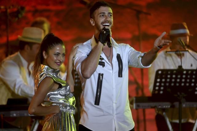 Saad Lamjarred, 31 ans, une vedette au Maroc... (AFP, Fethi Belaid)