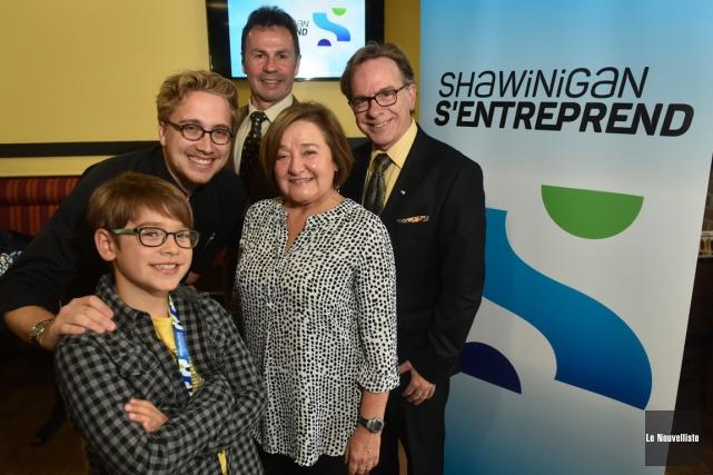 Le lancement de la campagne «Shawinigan s'entreprend» a... (Sylvain Mayer, Le Nouvelliste)