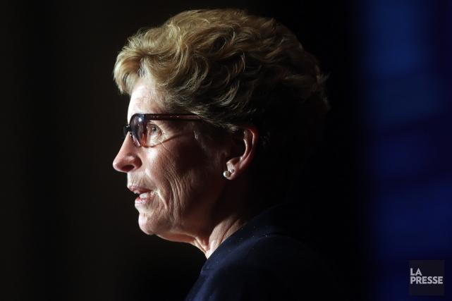 La première ministre de l'Ontario, Kathleen Wynne, doit... (Photo d'archives)
