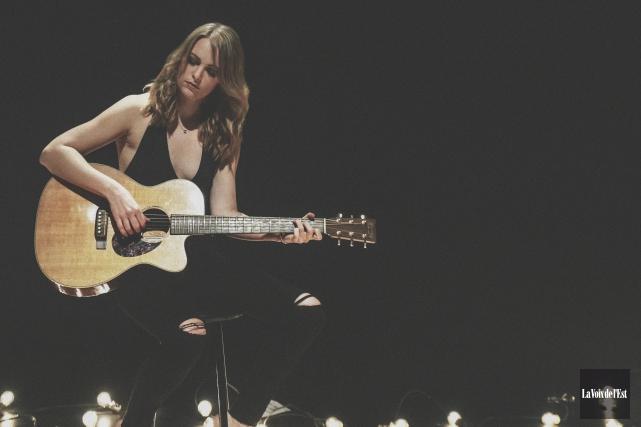 Andréanne A. Malette offrira ses chansons dans un... (Catherine Trudeau, La Voix de l'Est)