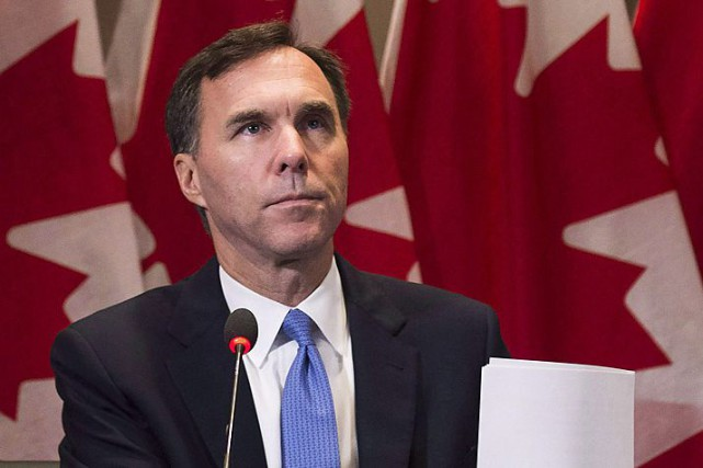 Le ministre fédéral des Finances, Bill Morneau, a... (Archives, La Presse canadienne)
