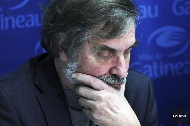 Le président du Comité consultatif d'urbanisme, Richard Bégin... (Etienne Ranger, Archives Le Droit)