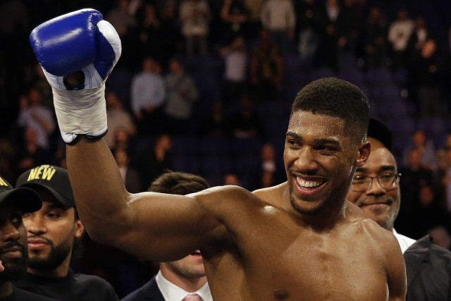 Anthony Joshua... (Photo Matt Dunham, AP)