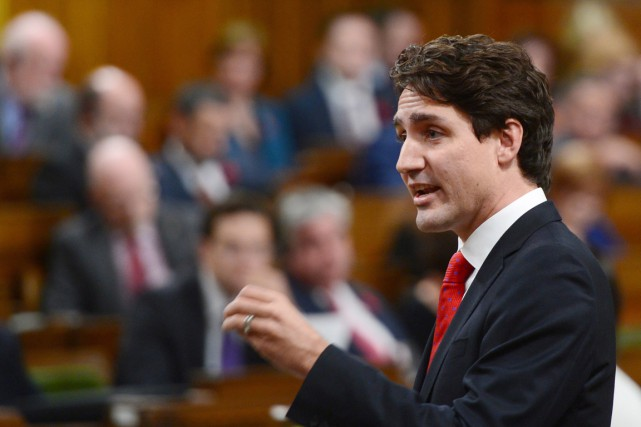 Le premier ministre du Canada Justin Trudeau.... (photo Sean Kilpatrick, archives pc)