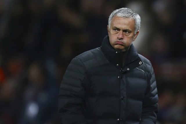 L'entraîneur-chef de Manchester United, Jose Mourinho.... (Photo Dave Thompson, AP)