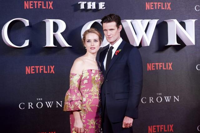 Claire Foy et Matt Smith, vedettes de la... (Archives  AFP)
