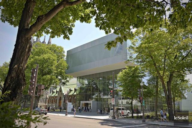 L'architecture au service de l'art? (Photothèque Le Soleil, Pascal Ratthé)