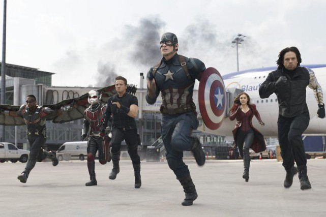 Captain America: Civil War a récolté 1,1 milliard... (PHOTO FOURNIE PAR DISNEY-MARVEL)