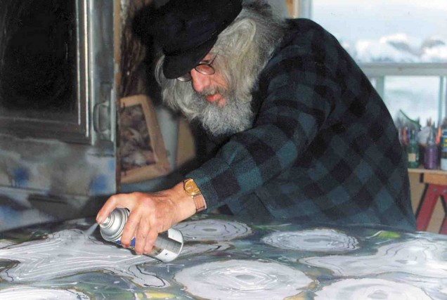 L'illustre peintre québécois Jean-Paul Riopelle était un homme... (Archives La Presse)