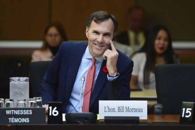 L'énoncé économique du ministre Bill Morneau nous annonce... (La Presse canadienne, Sean Kilpatrick)