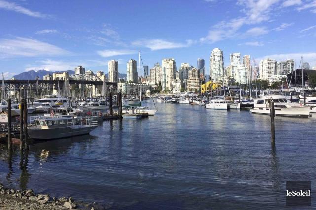 La partie sud de Vancouver où se trouve... (Le Soleil, Normand Provencher)