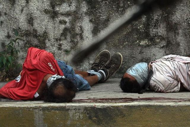 100 000 personnes sont mortes ou ont disparu... (Archives AFP)