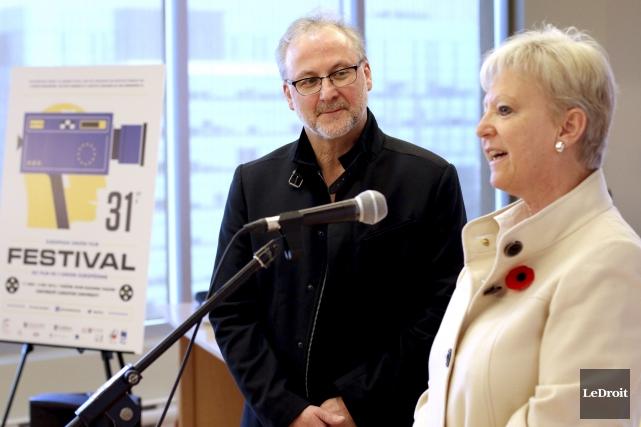 Tom McSorley directeur de l'Institut canadien du film... (Patrick Woodbury, LeDroit)